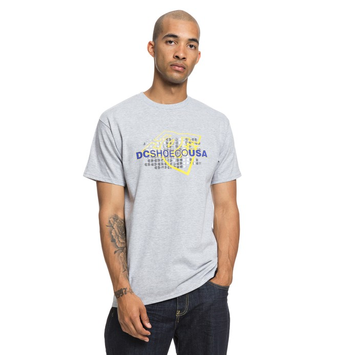 0 Pillery Tee Grey ADYZT04453 DC Shoes