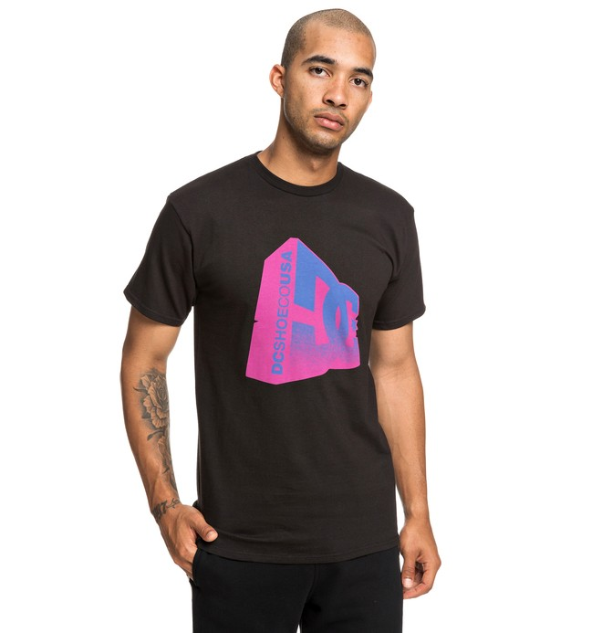 0 Captain Tee Black ADYZT04506 DC Shoes