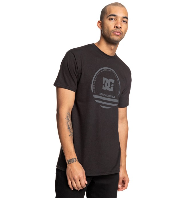 0 Fatal Sting Tee Black ADYZT04507 DC Shoes