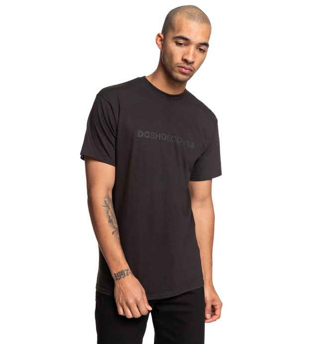 0 Side To Side Tee Black ADYZT04509 DC Shoes