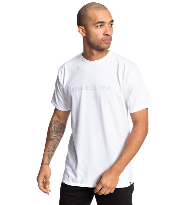 0 Camiseta Side To Side Blanco ADYZT04509 DC Shoes