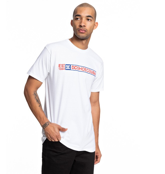 0 Camiseta Rated R Blanco ADYZT04516 DC Shoes