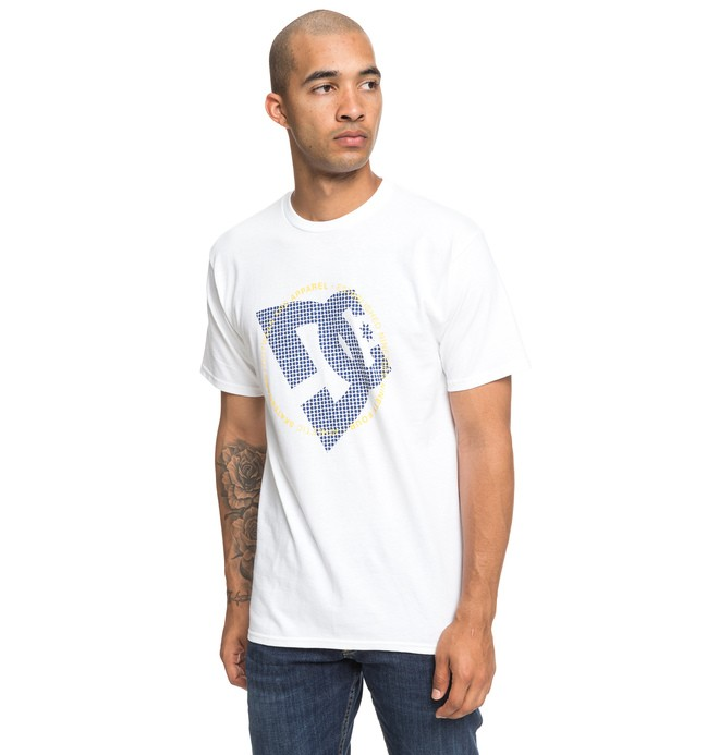 0 Fourtex Tee White ADYZT04518 DC Shoes