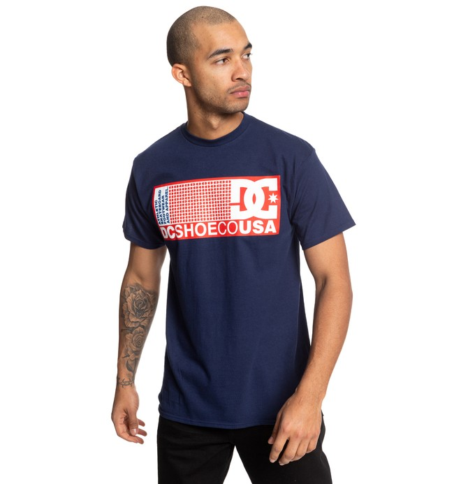 0 Pill Boster Tee Blue ADYZT04519 DC Shoes