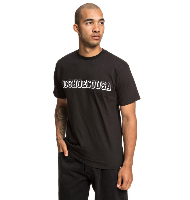0 Fittest Tee Black ADYZT04532 DC Shoes