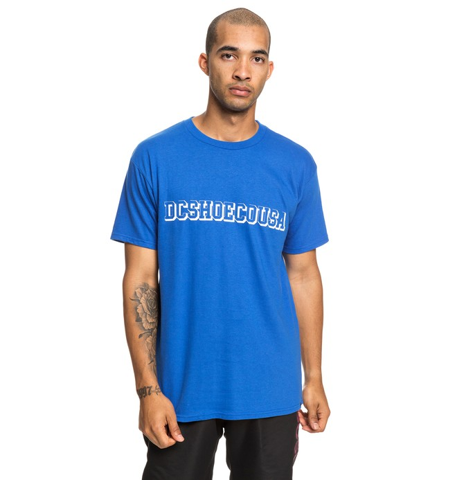 0 Fittest Tee Blue ADYZT04532 DC Shoes