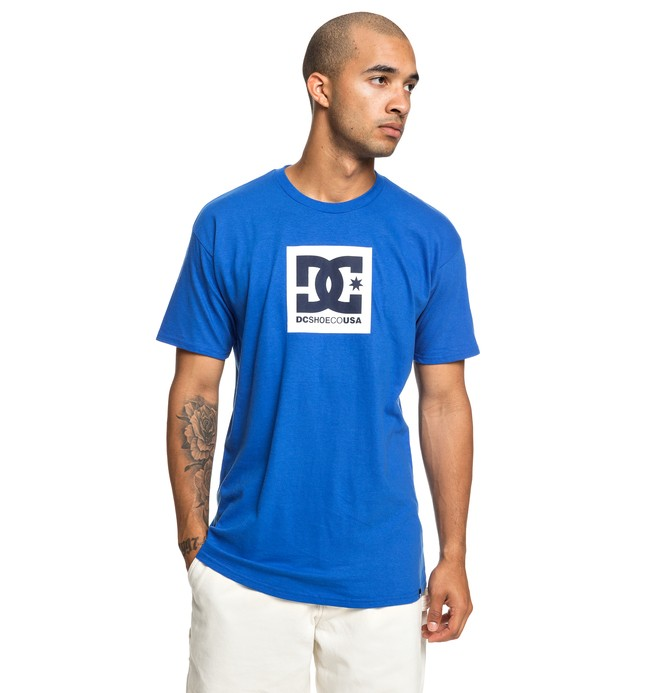0 Camiseta Square Star Azul ADYZT04533 DC Shoes