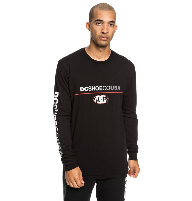 0 Paktrak Long Sleeve Tee Black ADYZT04540 DC Shoes