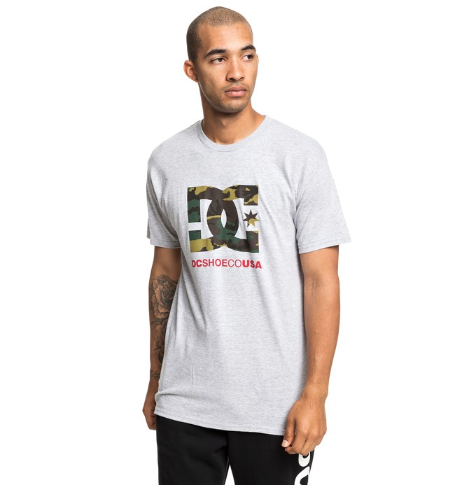 0 Camo Fill Tee Black ADYZT04541 DC Shoes