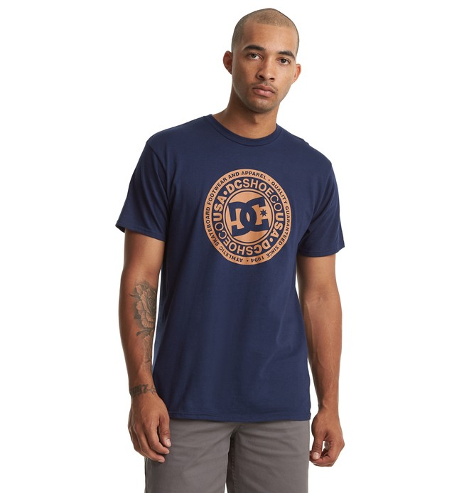 0 Circle Star Tee Orange ADYZT04596 DC Shoes