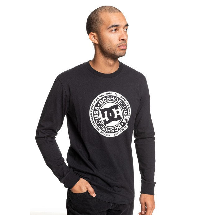 0 Circle Star Long Sleeve Tee Blue ADYZT04597 DC Shoes