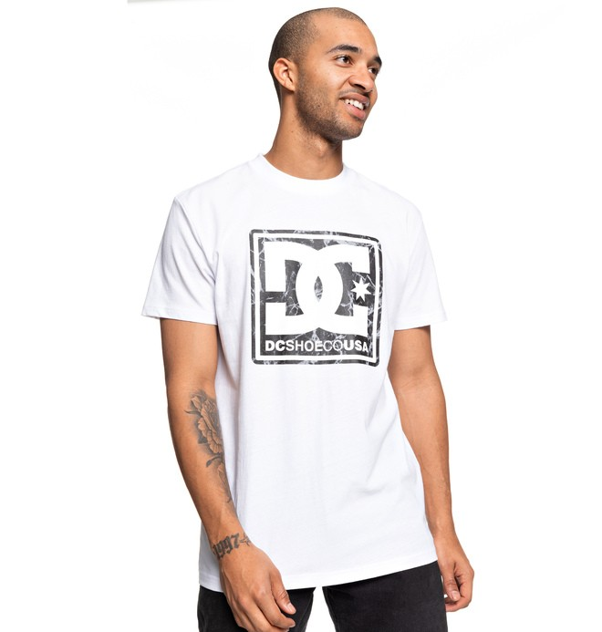 0 Pattern Box Tee White ADYZT04598 DC Shoes