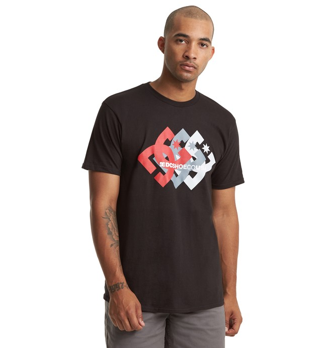 0 Logo Ballad Tee Black ADYZT04604 DC Shoes
