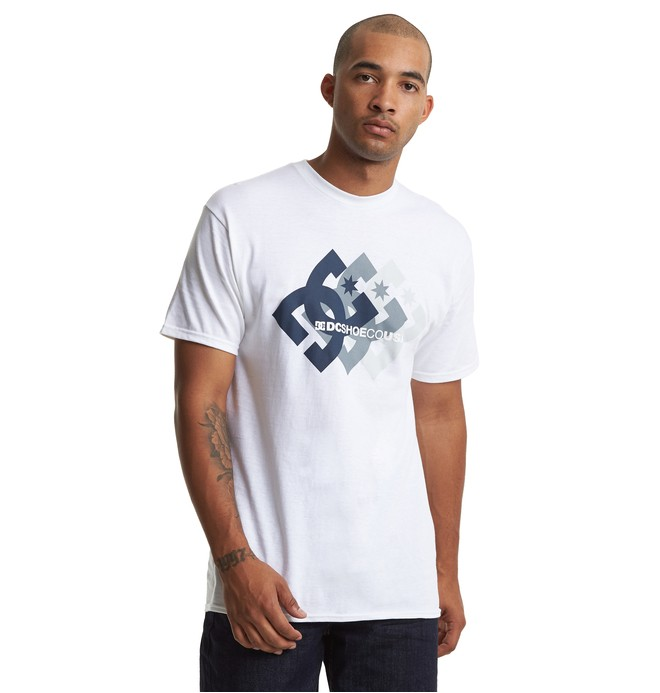 0 Logo Ballad Tee White ADYZT04604 DC Shoes