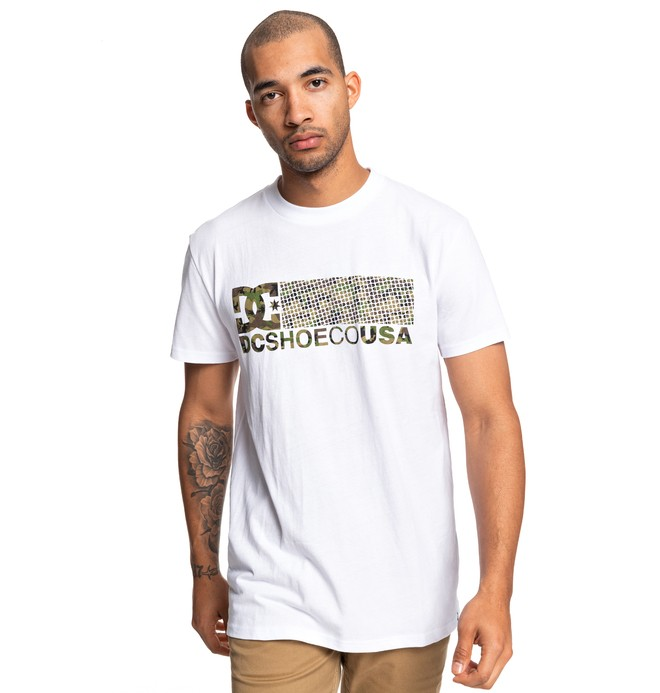 0 Trestna Tee White ADYZT04605 DC Shoes