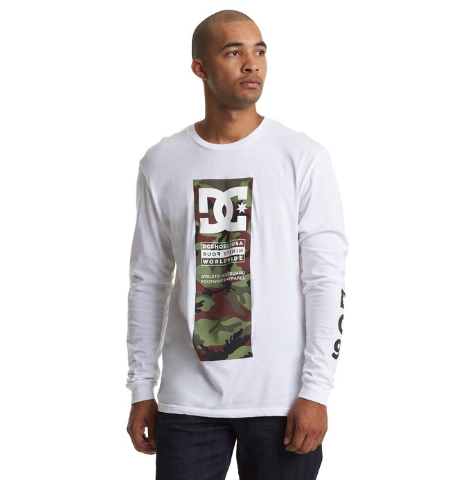 0 Bulatnik Long Sleeve Tee White ADYZT04610 DC Shoes