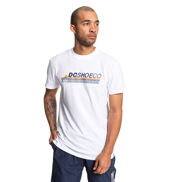 0 Lightspeed Tee White ADYZT04612 DC Shoes