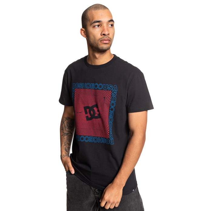 0 The Mover Tee Black ADYZT04614 DC Shoes