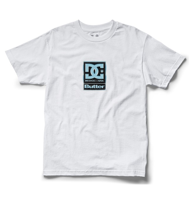 0 DC X BG Badge SS White ADYZT04728 DC Shoes