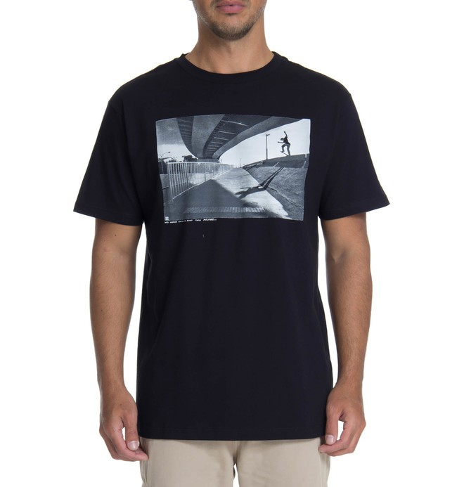 0 DC CAM BASICA WES SWITCH BLUNT Preto BR61114382 DC Shoes