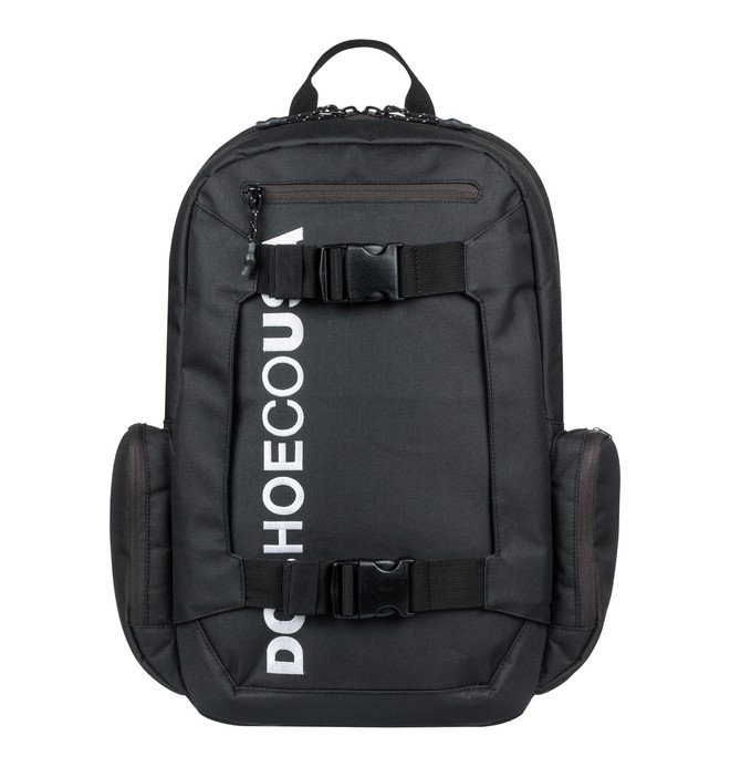 0 Mochila Skatebag Chalkers DC Shoes Preto BR78741771 DC Shoes