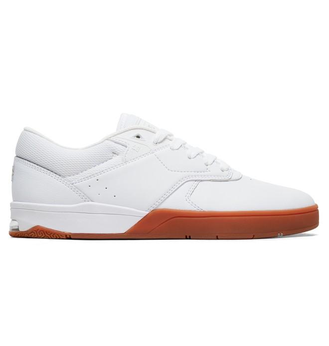 0 Tênis Tiago S DC Shoes Branco BRADYS100386 DC Shoes
