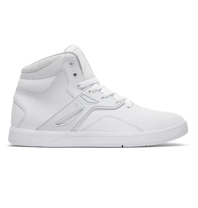 0 Tenis Masculino DC Shoes Frequency High Branco BRADYS100410 DC Shoes