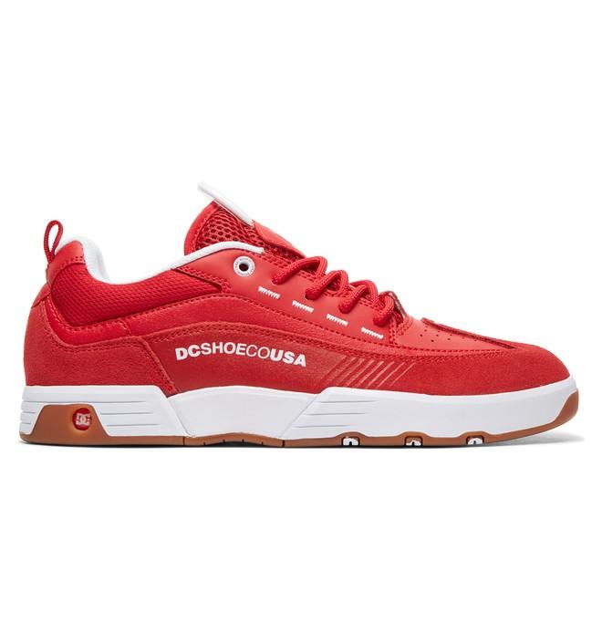 0 Tênis Legacy 98 Slim DC Shoes Vermelho BRADYS100445 DC Shoes