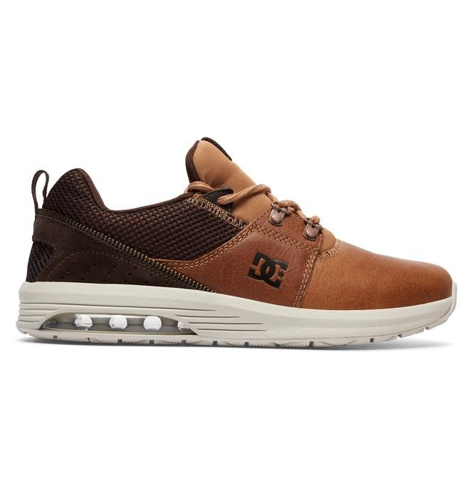 0 Tenis Masculino DC Shoes Heathrow LA LX Marrom BRADYS200041 DC Shoes