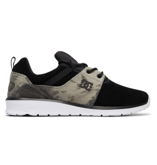 0 Tenis  DC Shoes Heathrow SE Preto BRADYS700073 DC Shoes