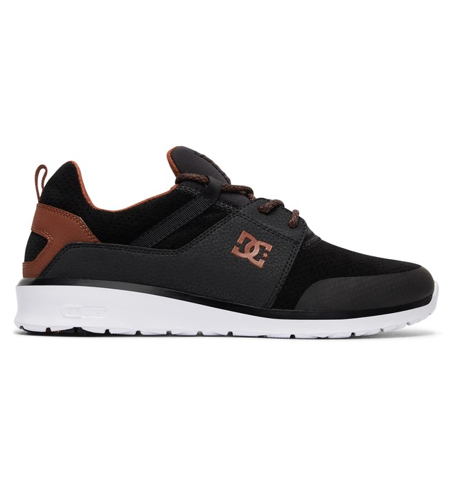 0 Tenis Masculino DC Shoes Heathrow Prestige Preto BRADYS700084 DC Shoes