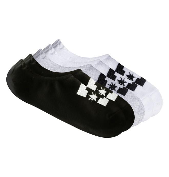 0 DC 3 Pack - Sneaker-Socken Schwarz EDBAA03003 DC Shoes