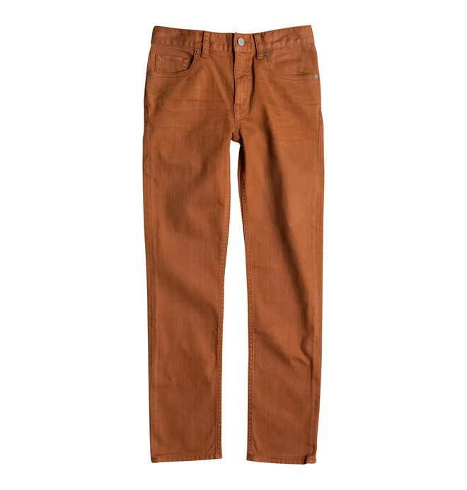 0 Slim Colour - Slim Fit Jeans Brown EDBDP03033 DC Shoes