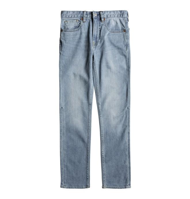 0 Worker Light Indigo Bleach - Slim Fit Jeans for Boys 8-16 Blue EDBDP03043 DC Shoes