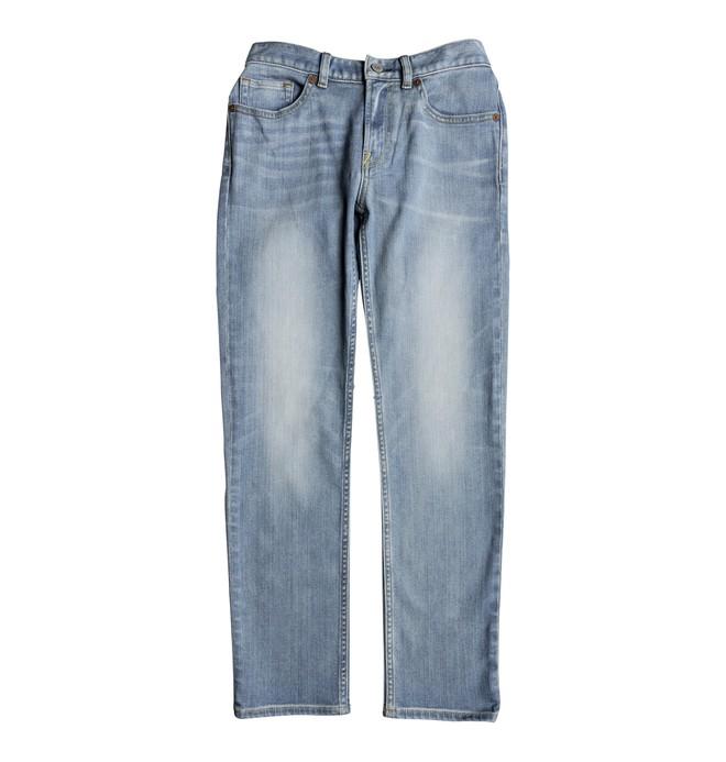 0 Worker Light Indigo Blue - Straight Fit Jeans for Boys 8-16 Blue EDBDP03046 DC Shoes