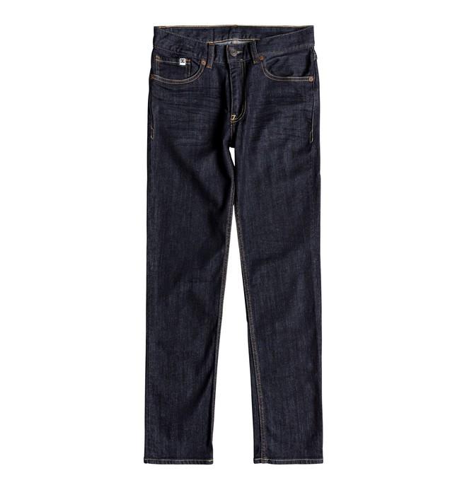 0 Worker Indigo Rinse - Vaquero de Corte Ajustado para Chicos 8-16 Azul EDBDP03049 DC Shoes