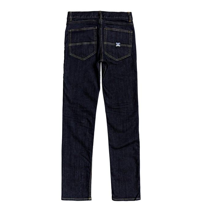 Worker Indigo Rinse - Slim Fit Jeans for Boys 8-16  EDBDP03055