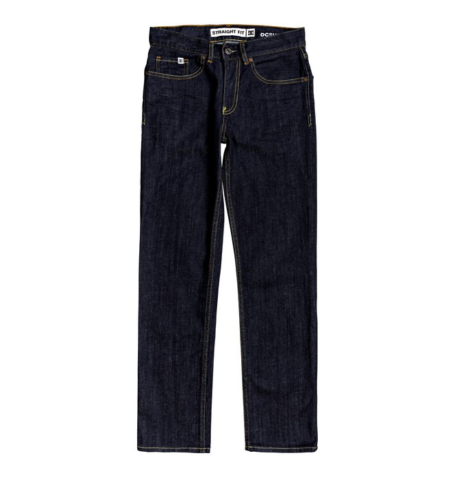 Worker Indigo Rinse - Straight Fit Jeans for Boys 8-16  EDBDP03057