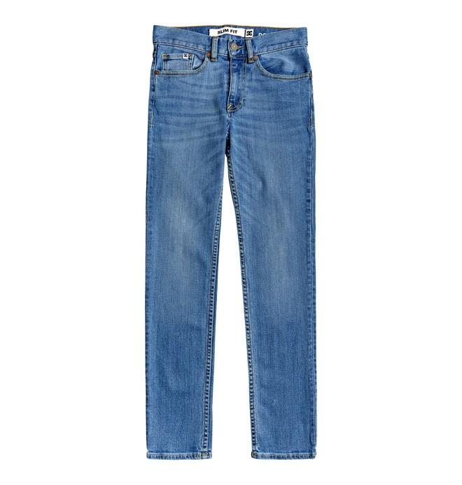 0 Worker - Vaquero de Corte Ajustado para Chicos 8-16 Azul EDBDP03058 DC Shoes