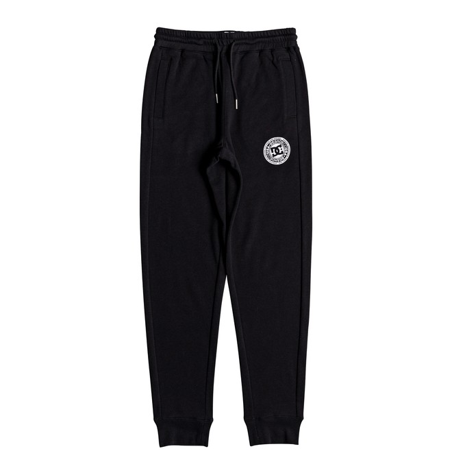 0 Boy's 8-16 Rebel Joggers Black EDBFB03015 DC Shoes