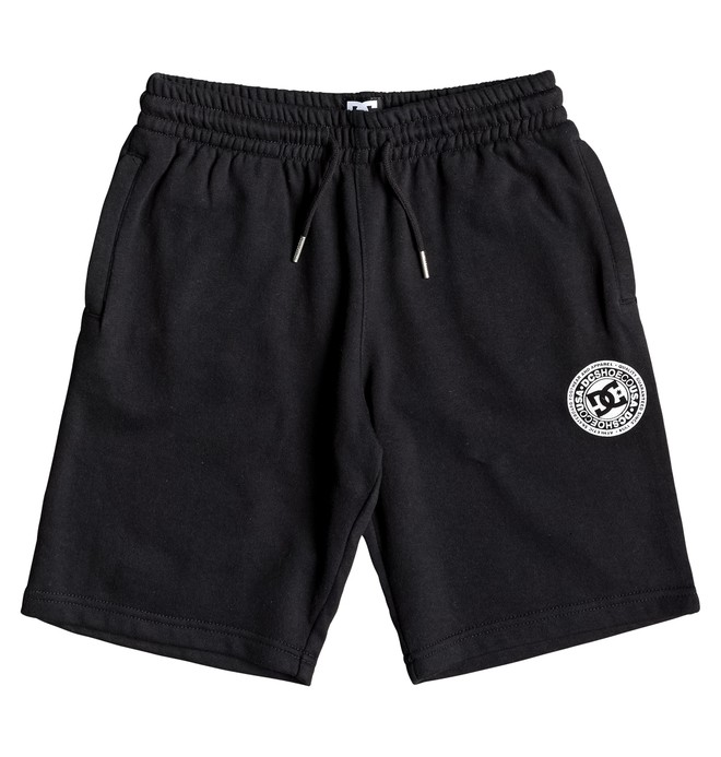 0 Rebel - Short de Felpa para Chicos 8-16 Negro EDBFB03021 DC Shoes
