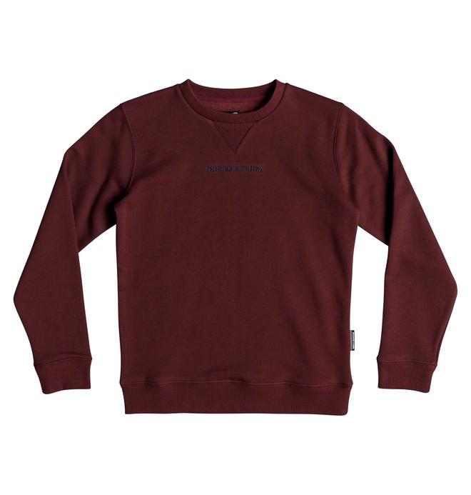 0 Craigburn - Sweatshirt für Jungen 8-16 Rot EDBFT03138 DC Shoes