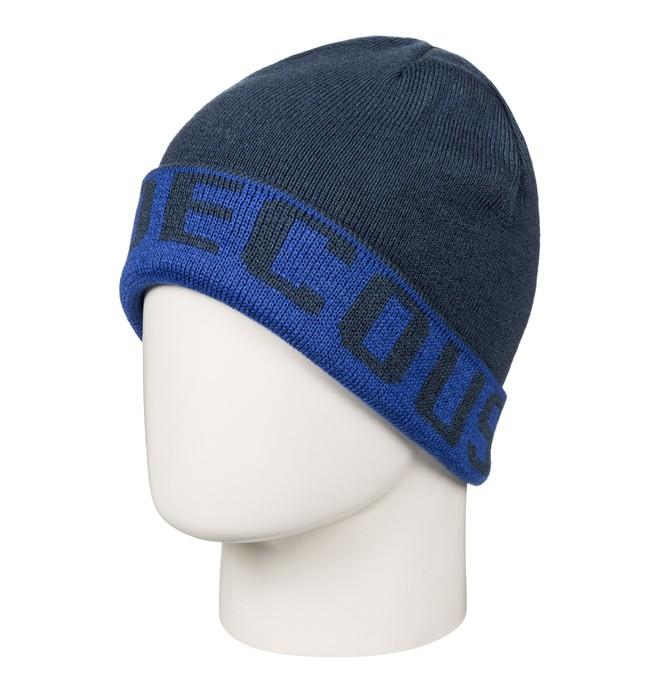 0 Bromont - Wendbares Beanie für Jungen 8-16 Blau EDBHA03014 DC Shoes