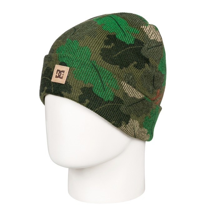 0 Boy's 8-16 Label Beanie Green EDBHA03022 DC Shoes