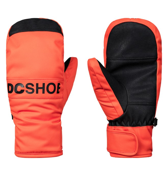 0 Franchise - Ski/Snowboard Mittens for Boys 8-16 Orange EDBHN03007 DC Shoes