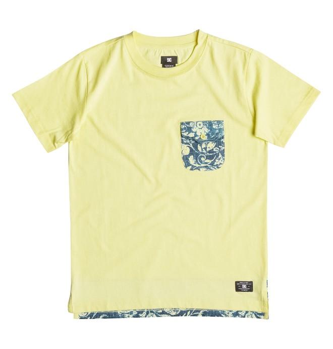0 Owensboro - T-shirt met Borstzak Yellow EDBKT03072 DC Shoes