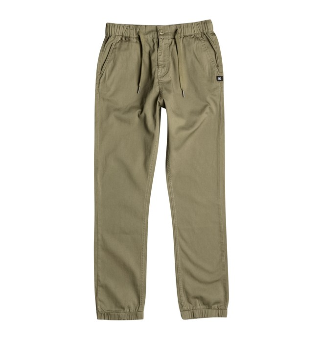 0 Greystoke - Straight Fit Trousers Beige EDBNP03009 DC Shoes