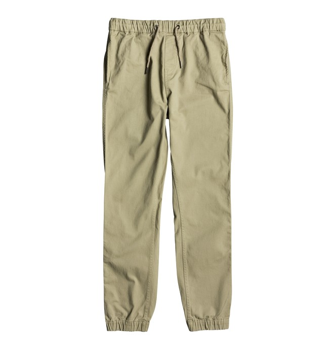 0 Blamedale - Chino Joggers for Boys 8-16 Beige EDBNP03017 DC Shoes