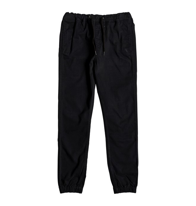 0 Blamedale - Chino Joggers for Boys 8-16 Black EDBNP03017 DC Shoes