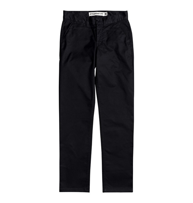 0 Boy's 8-16 Worker Straight Fit Chinos  EDBNP03022 DC Shoes